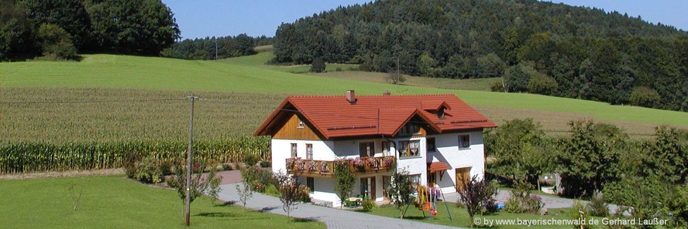 Selbstversorger Ferienhäuser in Bayern